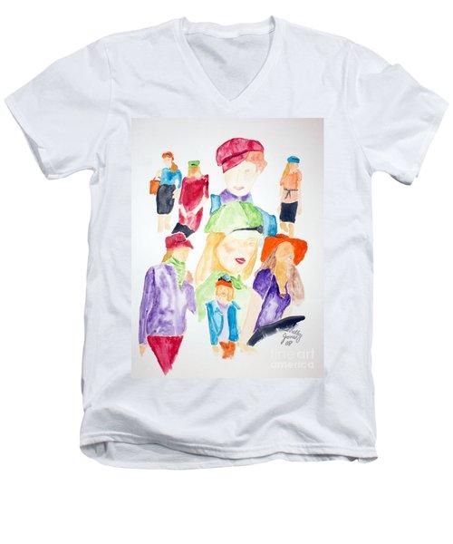 Hats Men's V-Neck T-Shirt