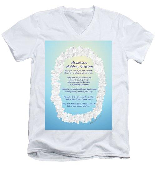 Hawaiian Wedding Blessing Men's V-Neck T-Shirt