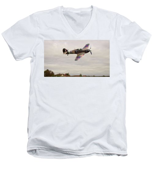 Hawker Hurricane -2 Men's V-Neck T-Shirt