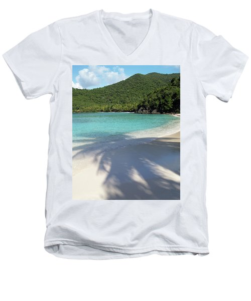 Hawksnest Bay And Gibney Beach Men's V-Neck T-Shirt