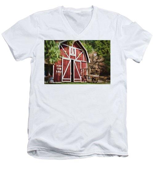 Hay Fer Sale Men's V-Neck T-Shirt