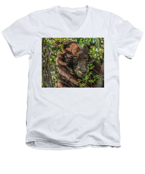 He Was Hiding In A Tree Men's V-Neck T-Shirt