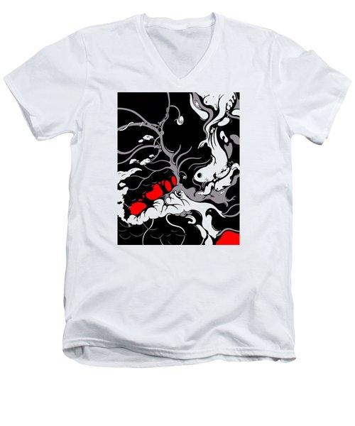 Head Case Men's V-Neck T-Shirt
