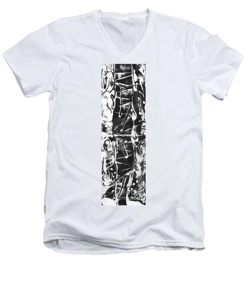 Healer Men's V-Neck T-Shirt by Carol Rashawnna Williams
