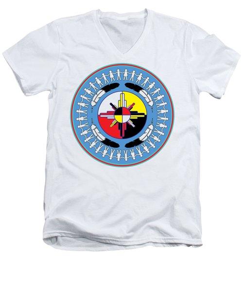 Healing For All Men's V-Neck T-Shirt