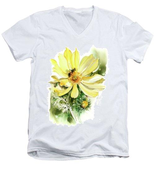 Healing Your Heart Men's V-Neck T-Shirt by Anna Ewa Miarczynska