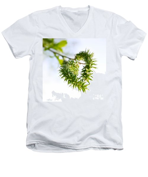 Heart In Nature Men's V-Neck T-Shirt