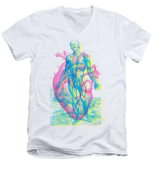 Heart-venus Men's V-Neck T-Shirt