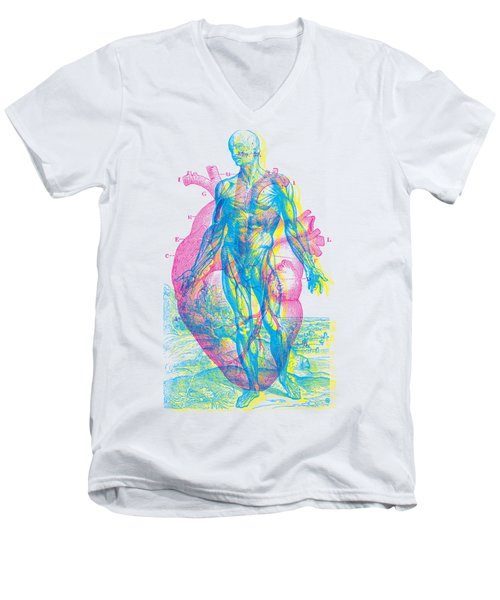 Heart-venus Men's V-Neck T-Shirt