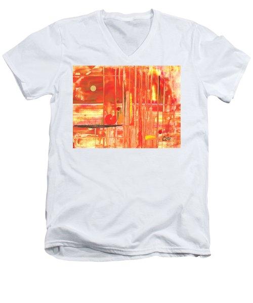 Heat Men's V-Neck T-Shirt