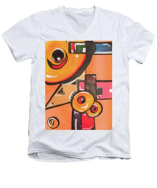 Heat Seek Men's V-Neck T-Shirt