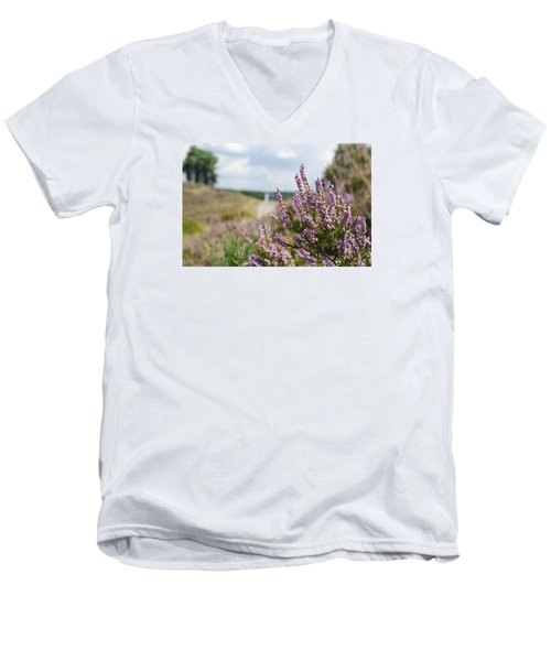 Heather Men's V-Neck T-Shirt