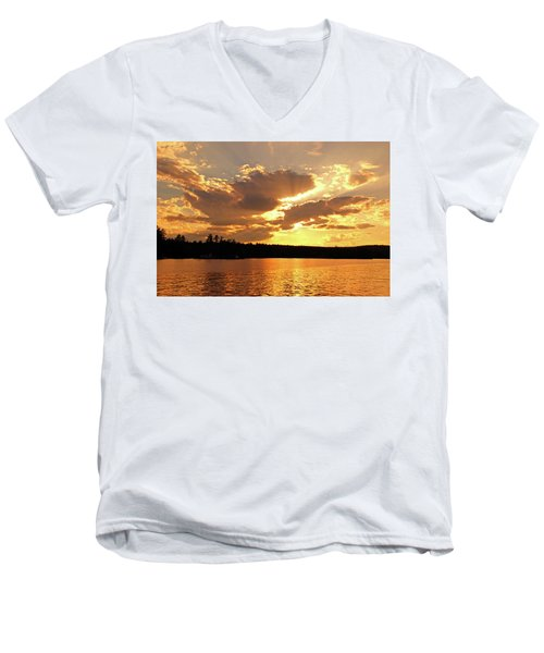Heaven Shining Men's V-Neck T-Shirt