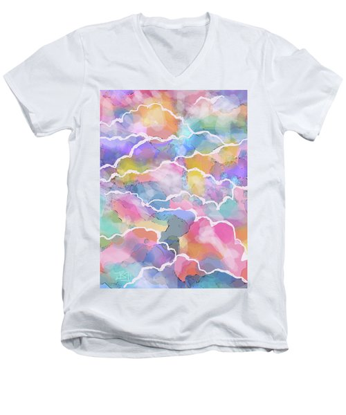Heavenly Clouds Men's V-Neck T-Shirt