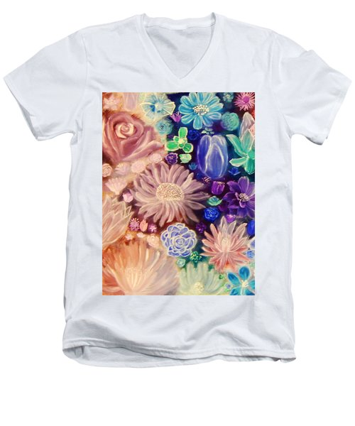 Heavenly Garden Men's V-Neck T-Shirt