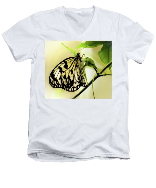 Heaven's Door Hath Opened Men's V-Neck T-Shirt by Karen Wiles