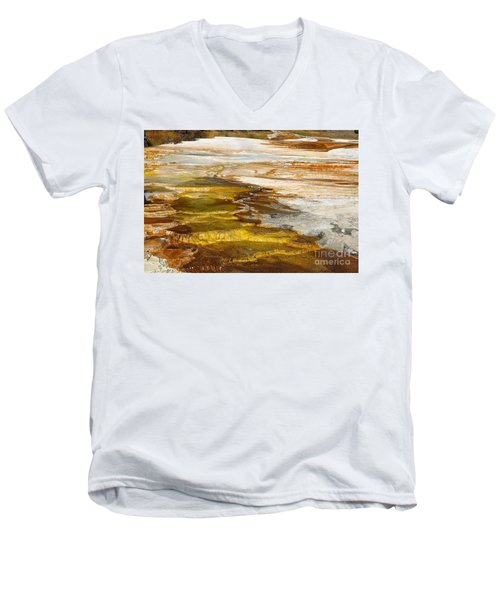 Men's V-Neck T-Shirt featuring the photograph Heavens Staircase by Robert Pearson