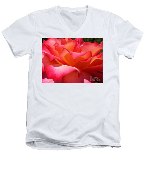 Heavy Petal Men's V-Neck T-Shirt