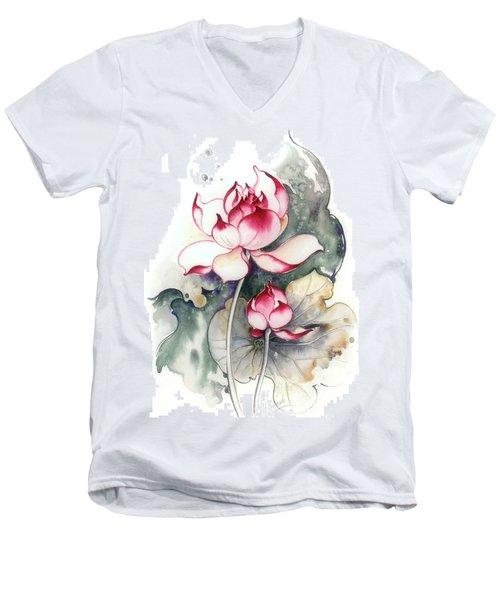 Heir To The Throne Men's V-Neck T-Shirt by Anna Ewa Miarczynska