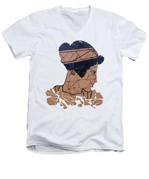 Helen Of Troy Men's V-Neck T-Shirt