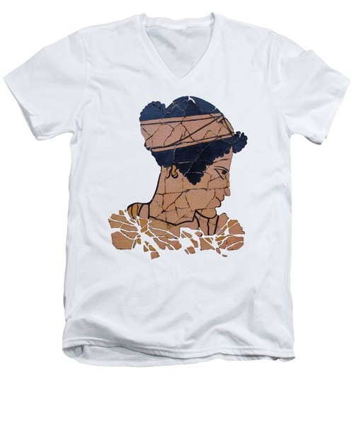 Helen Of Troy Men's V-Neck T-Shirt