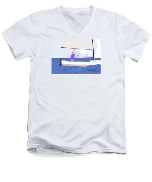Hello Old Friend Men's V-Neck T-Shirt