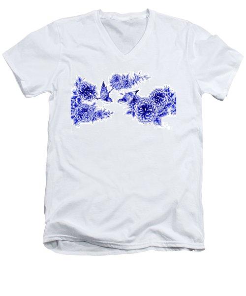 Hello And Good Morning Men's V-Neck T-Shirt