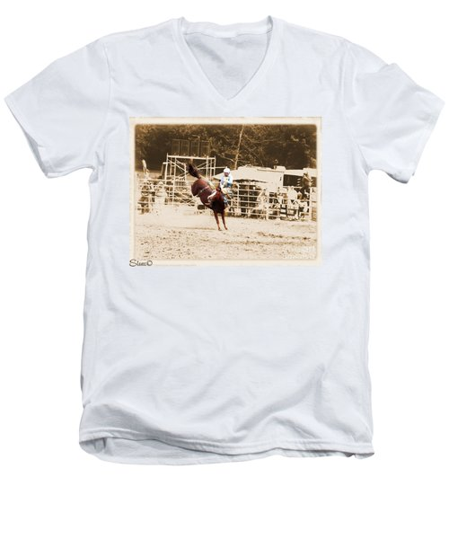 Helluva Rodeo-the Ride 3 Men's V-Neck T-Shirt