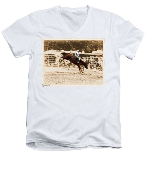 Helluva Rodeo-the Ride 4 Men's V-Neck T-Shirt
