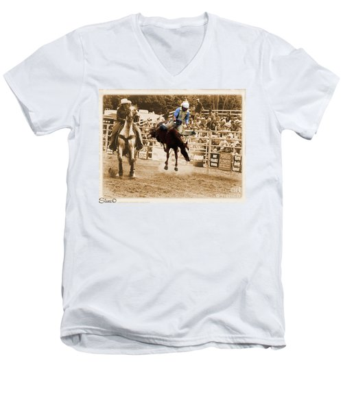 Helluva Rodeo-the Ride 5 Men's V-Neck T-Shirt