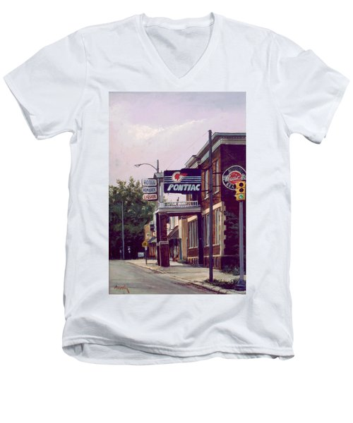 Hemlock Hotel Men's V-Neck T-Shirt
