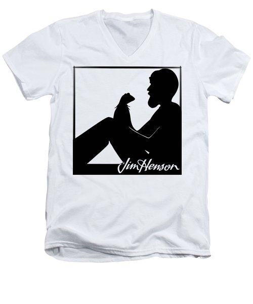 Henson's Moment Men's V-Neck T-Shirt