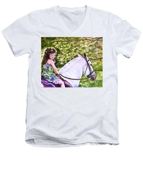 Her Guardian Men's V-Neck T-Shirt