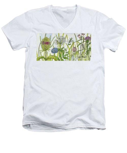 Herbs And Flowers Men's V-Neck T-Shirt