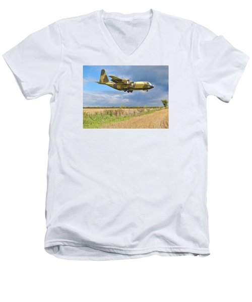 Men's V-Neck T-Shirt featuring the photograph Hercules Xv222 by Paul Gulliver