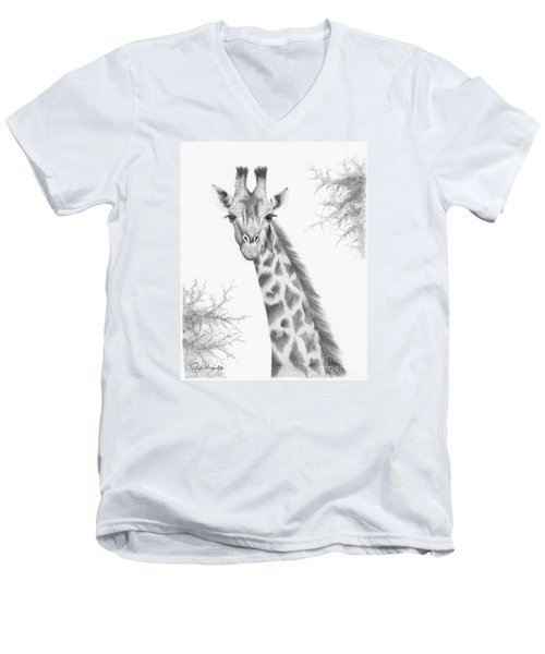 Here's Looking At You Men's V-Neck T-Shirt by Phyllis Howard