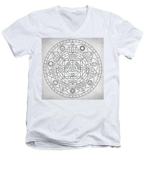 Hermetic Principles Men's V-Neck T-Shirt
