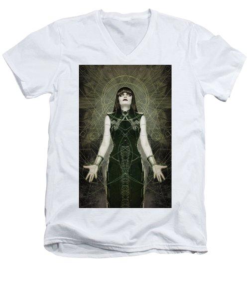 Hexymphony Men's V-Neck T-Shirt