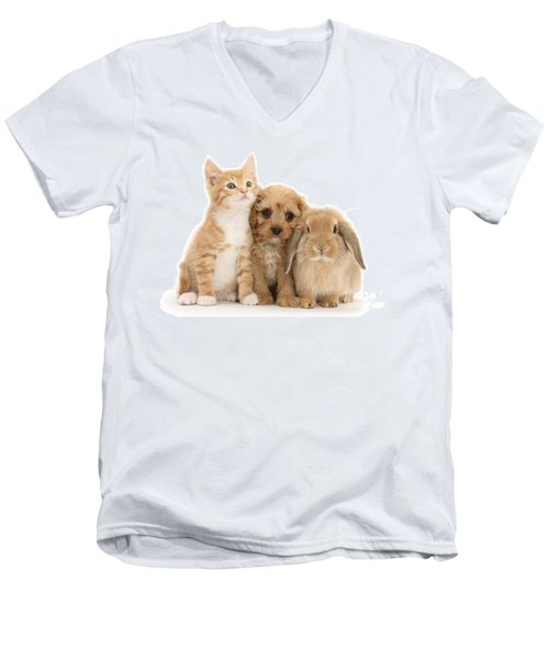 Hey, Move Over, You're Upstaging Me Men's V-Neck T-Shirt