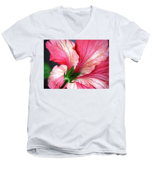 Hibiscus #5 Men's V-Neck T-Shirt