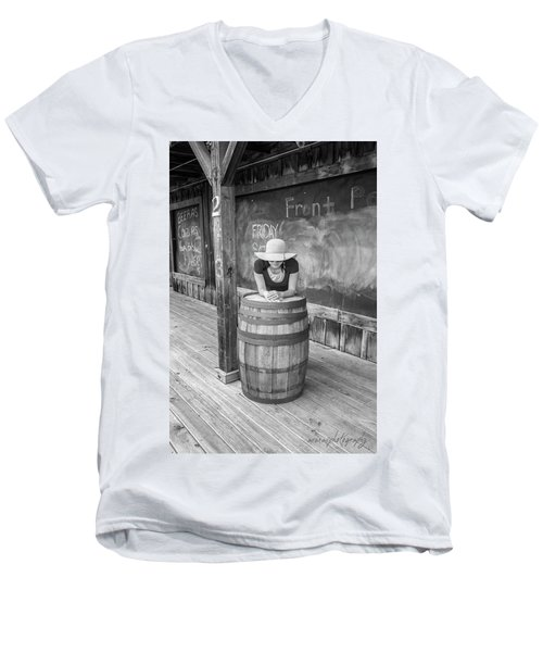 Hidden Face Men's V-Neck T-Shirt