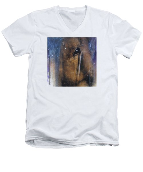 Hidden Horse Men's V-Neck T-Shirt