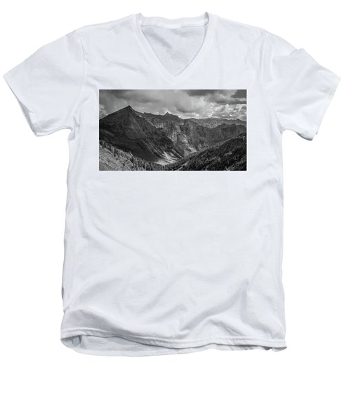 High Country Valley Men's V-Neck T-Shirt