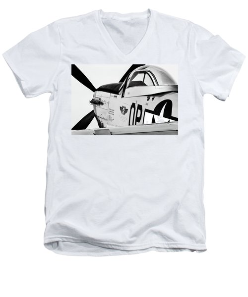 High Key Mustang Men's V-Neck T-Shirt