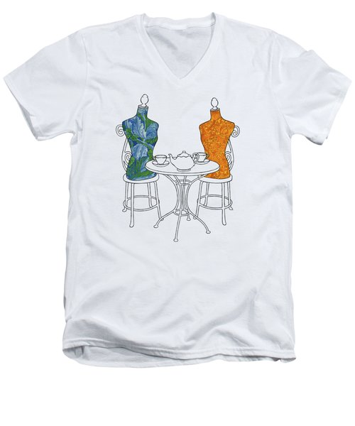 High Tea Men's V-Neck T-Shirt