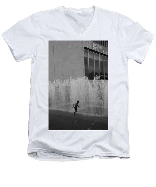 High Water Men's V-Neck T-Shirt