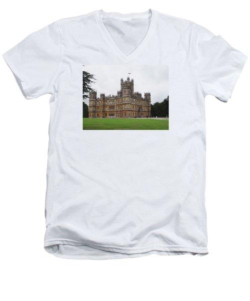 Highclere Castle Men's V-Neck T-Shirt