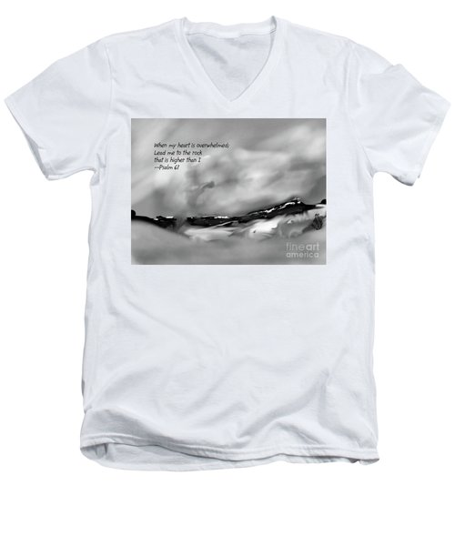 Higher Than I Men's V-Neck T-Shirt