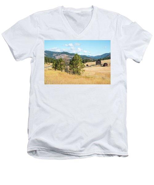 Highway 97 Ranch Memories Men's V-Neck T-Shirt