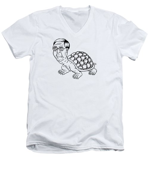 Hill Turtle Men's V-Neck T-Shirt